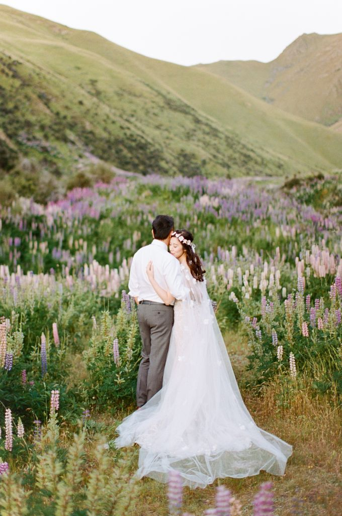 Three day Pre-Wedding shoot in New Zealand by Feather and Stone Photography - 036