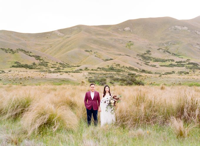 Three day Pre-Wedding shoot in New Zealand by Feather and Stone Photography - 042
