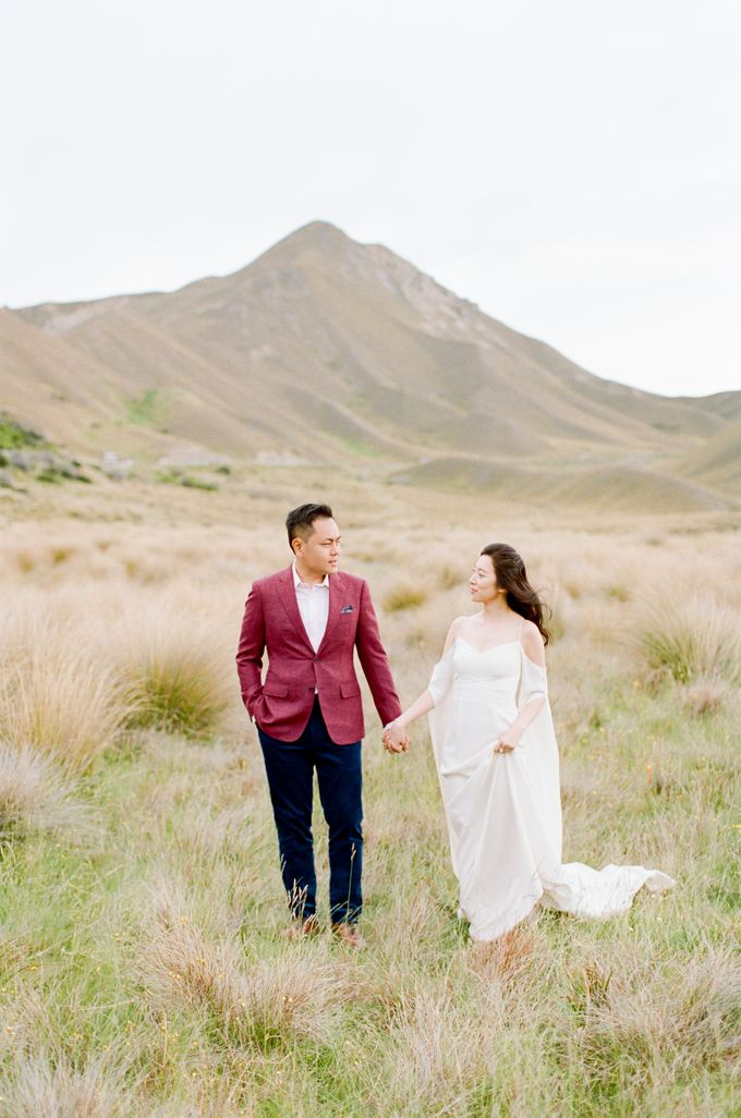 Three day Pre-Wedding shoot in New Zealand by Feather and Stone Photography - 046