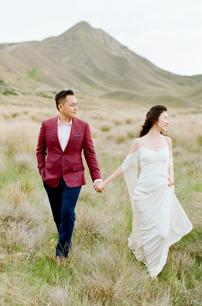 Three day Pre-Wedding shoot in New Zealand by Feather and Stone Photography - 049