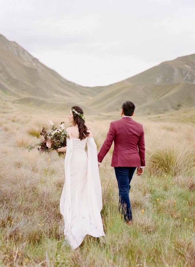 Three day Pre-Wedding shoot in New Zealand by Feather and Stone Photography - 041