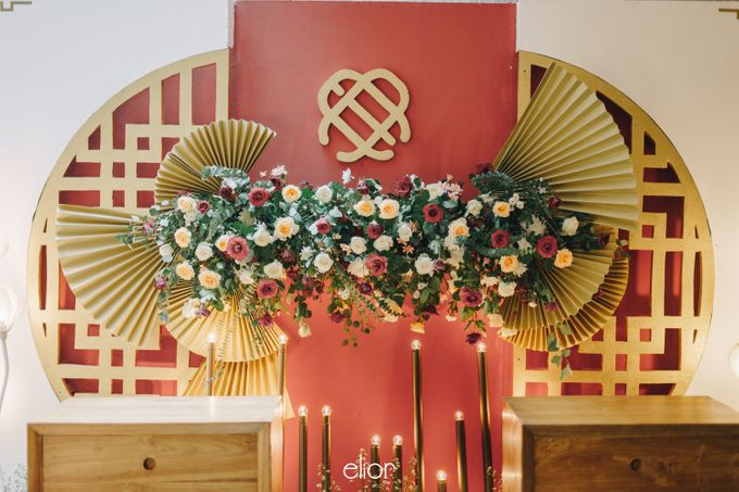 The Wedding of Eduard & Anastasia by Elior Design - 013