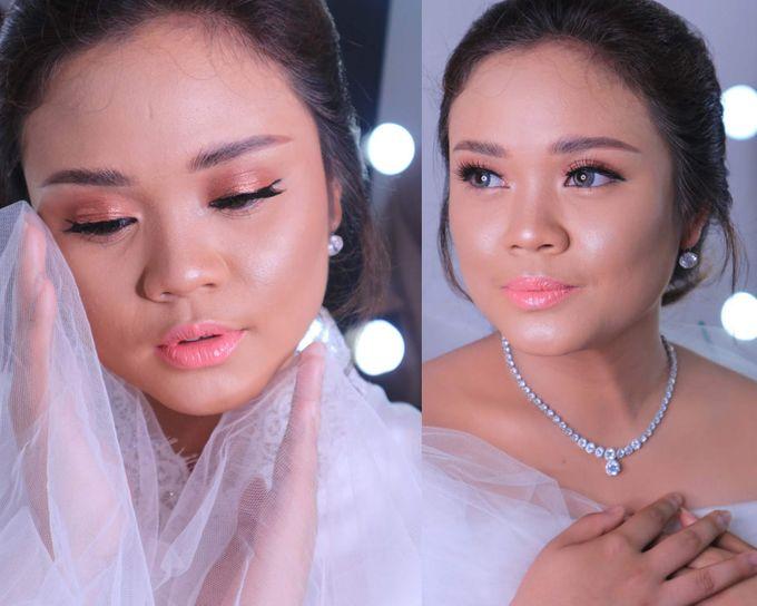 International Bride Make Up .  Ms. debora by Pangestwury MakeOver - 002