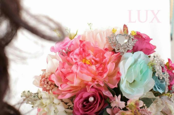 ENCHANTED WEDDING BOUQUET by LUX floral design - 008