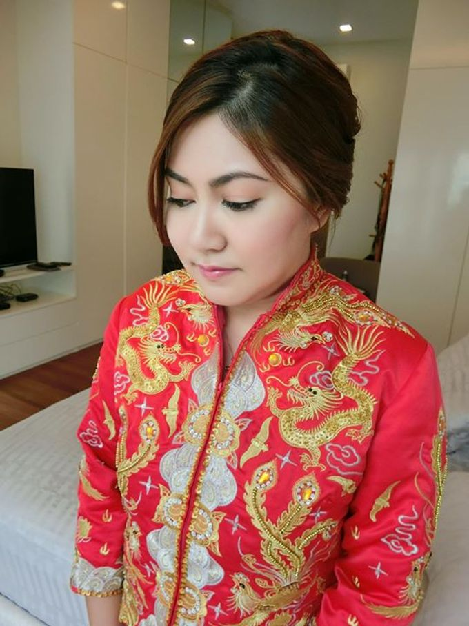 Wedding Day Bride Makeup Service by Elizabeth Lee Makeup Artist - 042