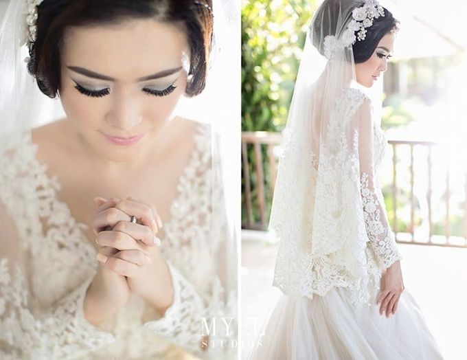 The bride with Signature's by VERONIKA VIDYANITA - 001