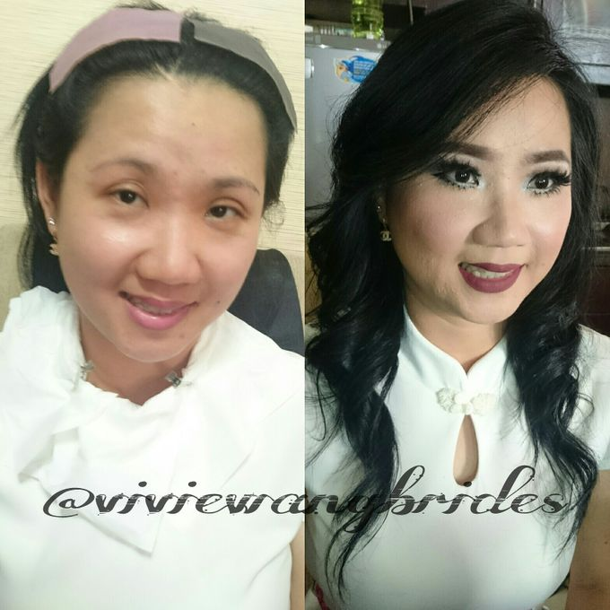 BEFORE AND AFTER by Vivie Wang Brides - 012