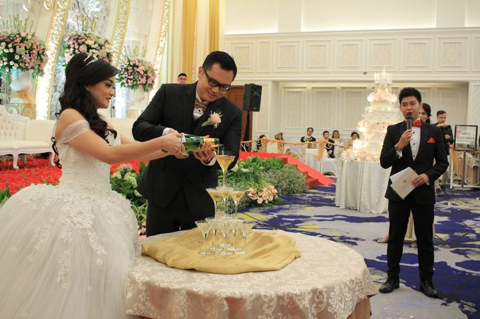 Mc Wedding Menara mandiri  Plaza Bapindo Jakarta - Anthony Stevven by IKK Wedding Planner - 010