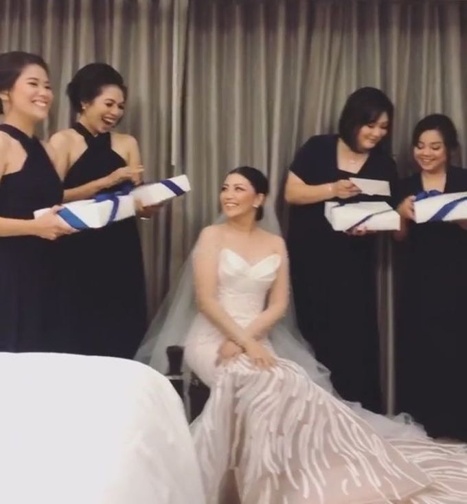 TINGGO YOVITA WEDDING by bridestore indonesia - 011