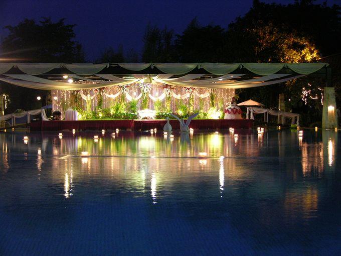 Wedding Poolside at Graha Residen Serviced Apartments Surabaya by Graha Residen Serviced Apartments Surabaya - 005