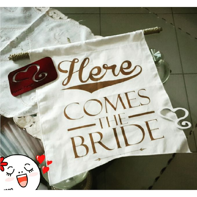 Wedding Flag by Sweetlovecollection - 014