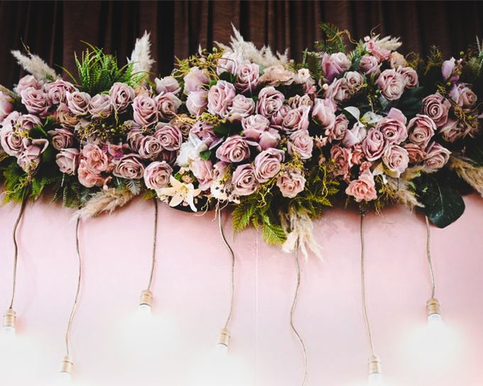 Cynthia & Osca Engagement Decoration by Nona Manis Creative Planner - 003