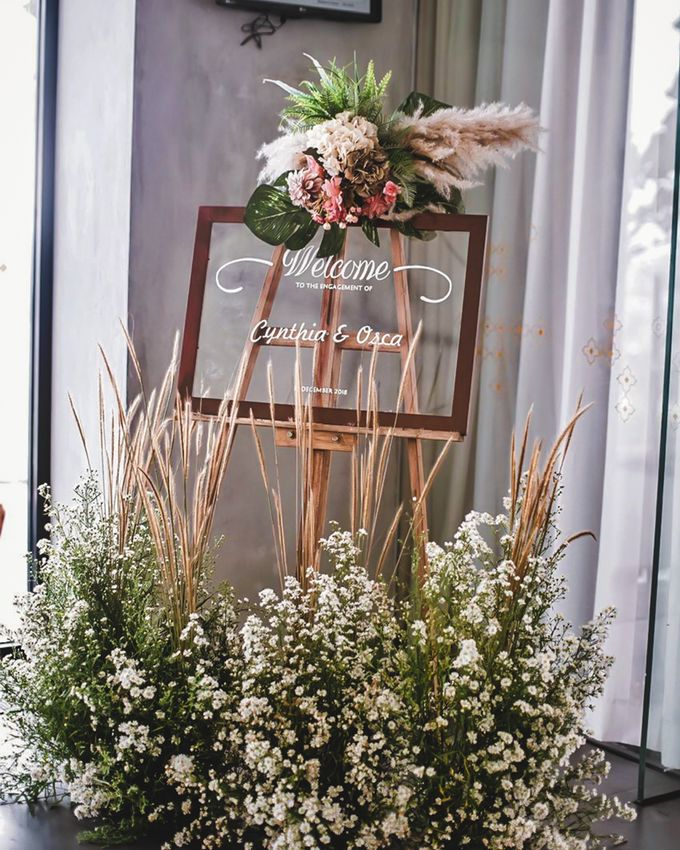 Cynthia & Osca Engagement Decoration by Nona Manis Creative Planner - 006