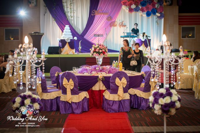 Stage Backdrop Design by Wedding And You - 015