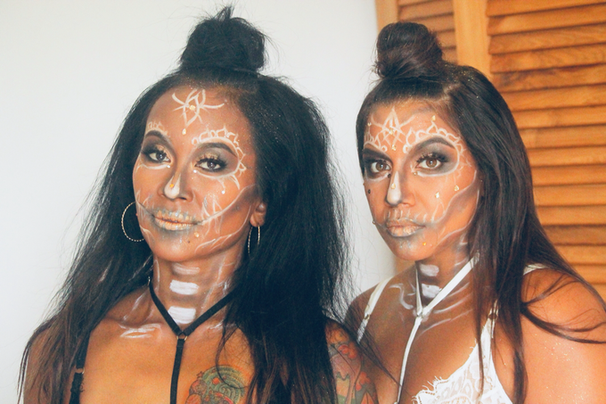 Halloween Party Makeup Look by ekaraditya4makeup - 005