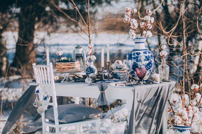 Wedding In Gzhel Style by Marina Nazarova Photographer - 009