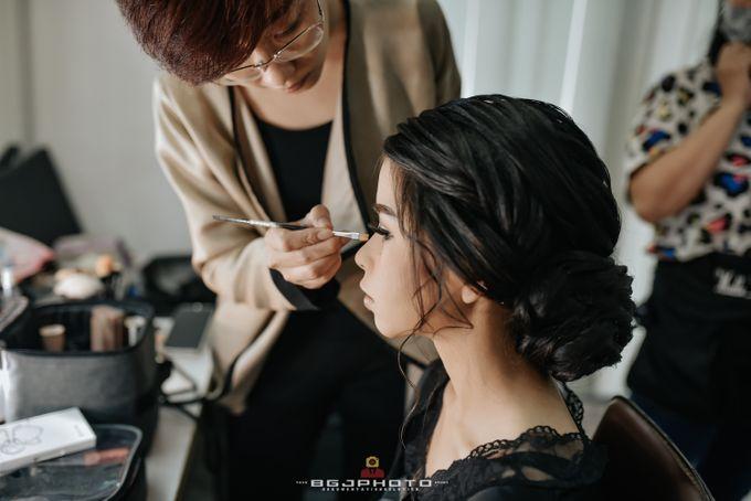 The Wedding of Ozie & Melati by MarisaFe Bridal - 009