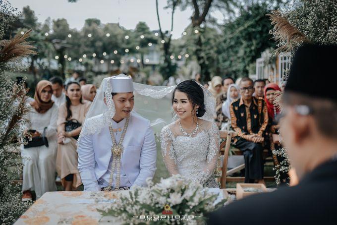 The Wedding of Ozie & Melati by MarisaFe Bridal - 017
