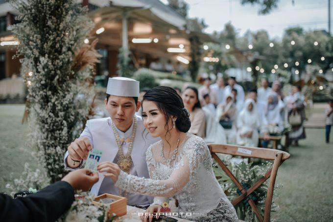 The Wedding of Ozie & Melati by MarisaFe Bridal - 011