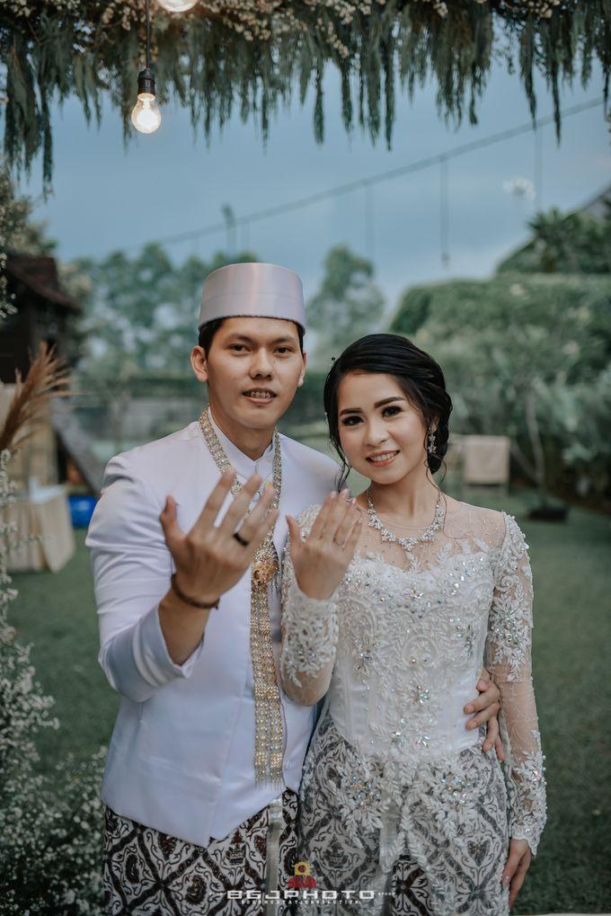 The Wedding of Ozie & Melati by MarisaFe Bridal - 016
