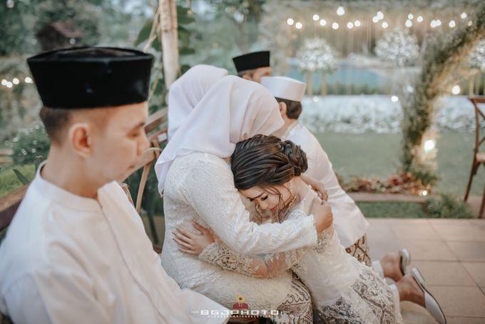 The Wedding of Ozie & Melati by MarisaFe Bridal - 007