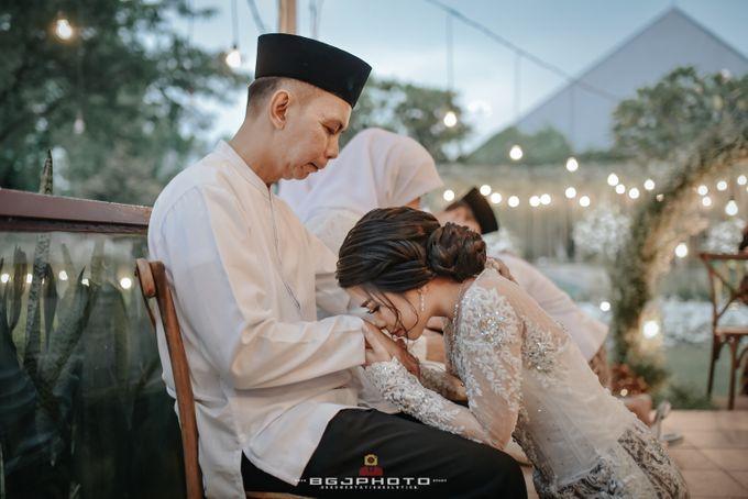 The Wedding of Ozie & Melati by MarisaFe Bridal - 018