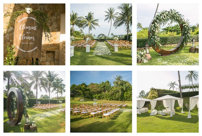 Eleanor and Clement wedding at Samujana villa Koh Samui by BLISS Events & Weddings Thailand - 004