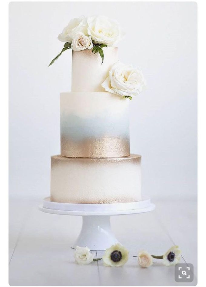 3 layers wedding cakes by LeNovelle Cake - 012