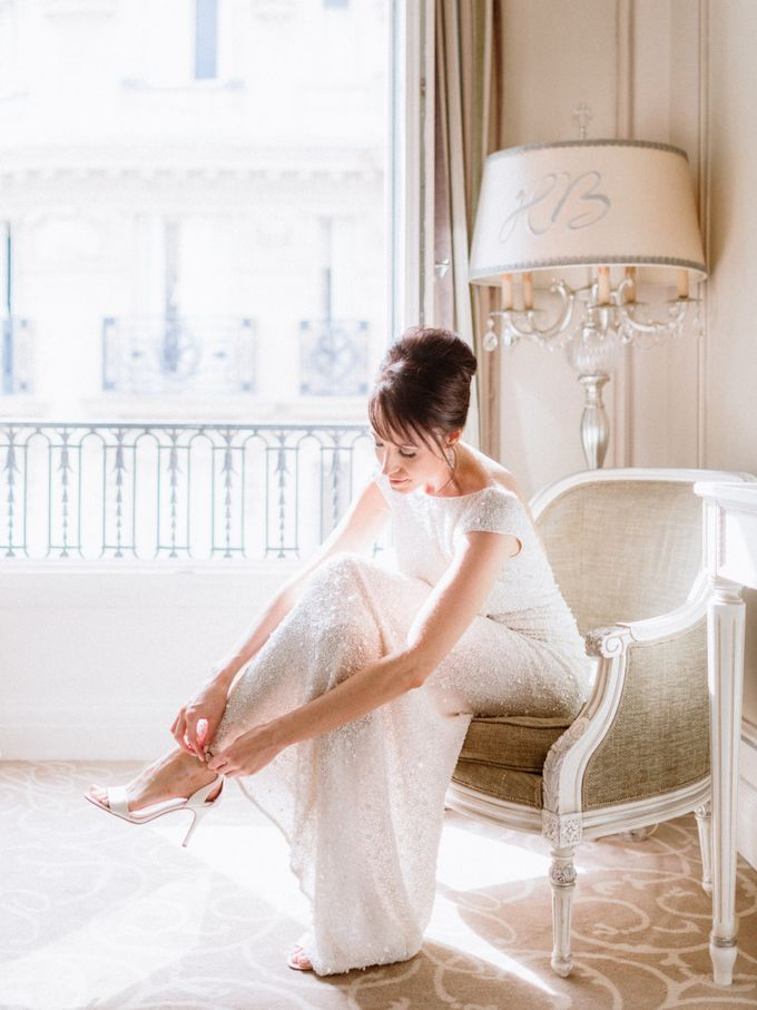 A chic intimate wedding in Paris by Dorothée Le Goater Events - 006