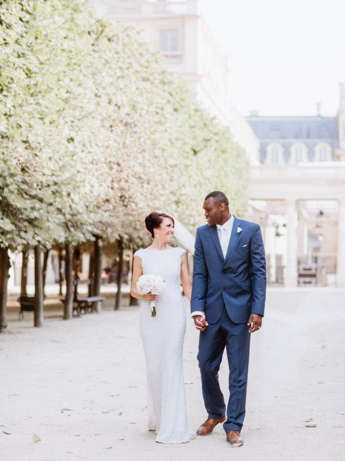 A chic intimate wedding in Paris by Dorothée Le Goater Events - 014