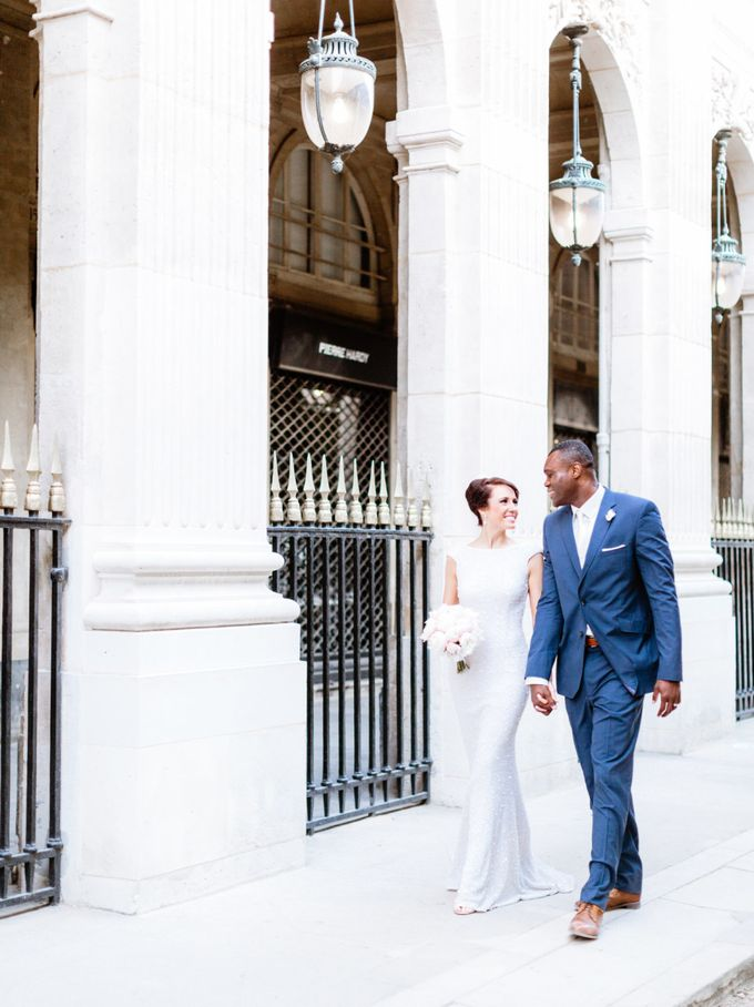 A chic intimate wedding in Paris by Dorothée Le Goater Events - 017