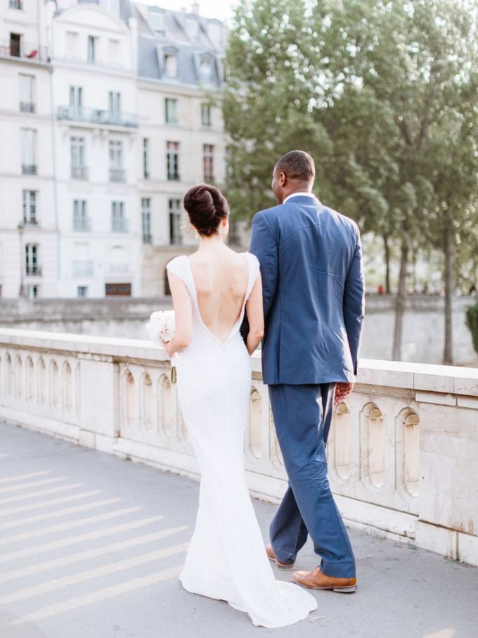 A chic intimate wedding in Paris by Dorothée Le Goater Events - 018