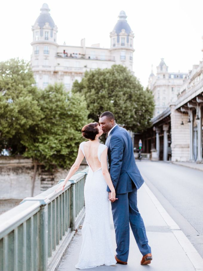 A chic intimate wedding in Paris by Dorothée Le Goater Events - 021