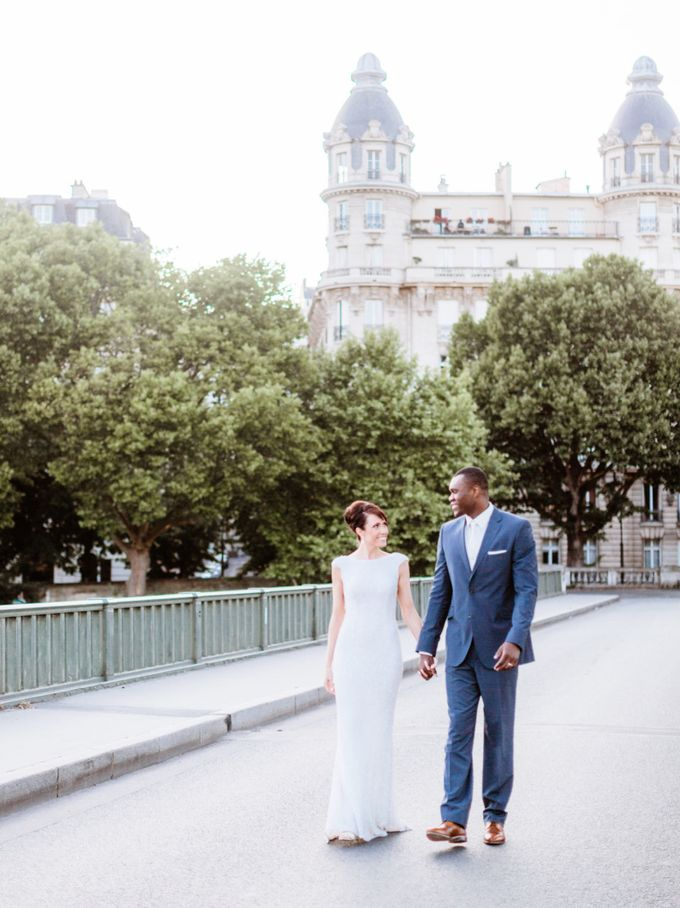 A chic intimate wedding in Paris by Dorothée Le Goater Events - 022