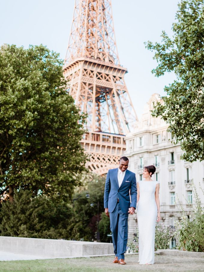 A chic intimate wedding in Paris by Dorothée Le Goater Events - 024