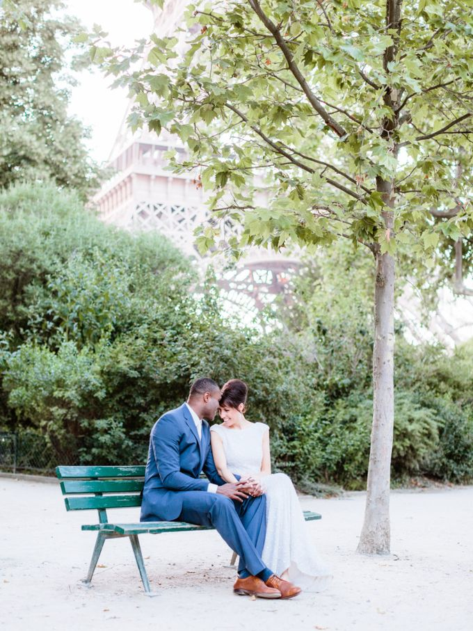 A chic intimate wedding in Paris by Dorothée Le Goater Events - 025