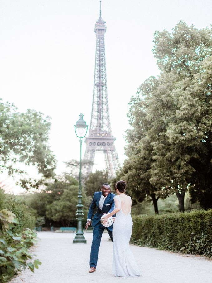 A chic intimate wedding in Paris by Dorothée Le Goater Events - 026