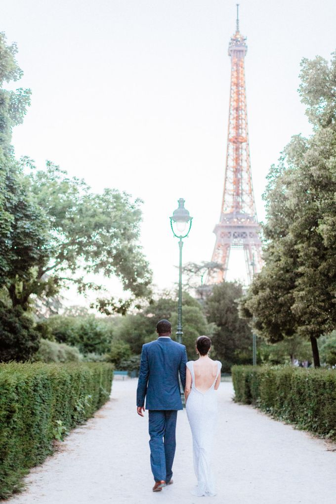 A chic intimate wedding in Paris by Dorothée Le Goater Events - 028