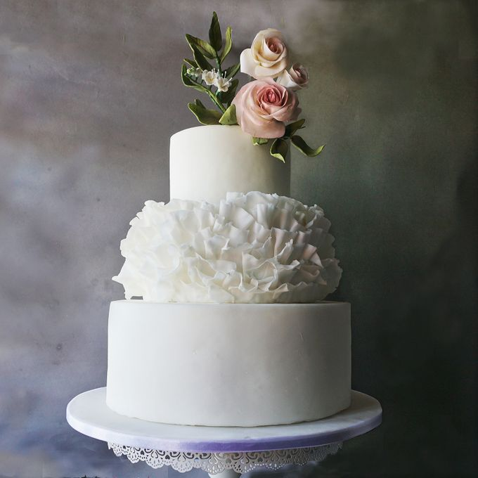 Wedding Cakes By Audreys Pastry Boutique