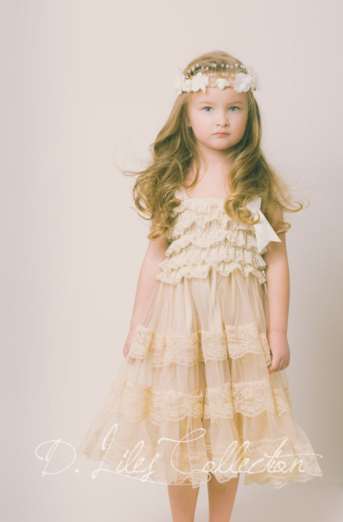 D Liles Collection Flower girl dresses by D. Liles Collection - 025