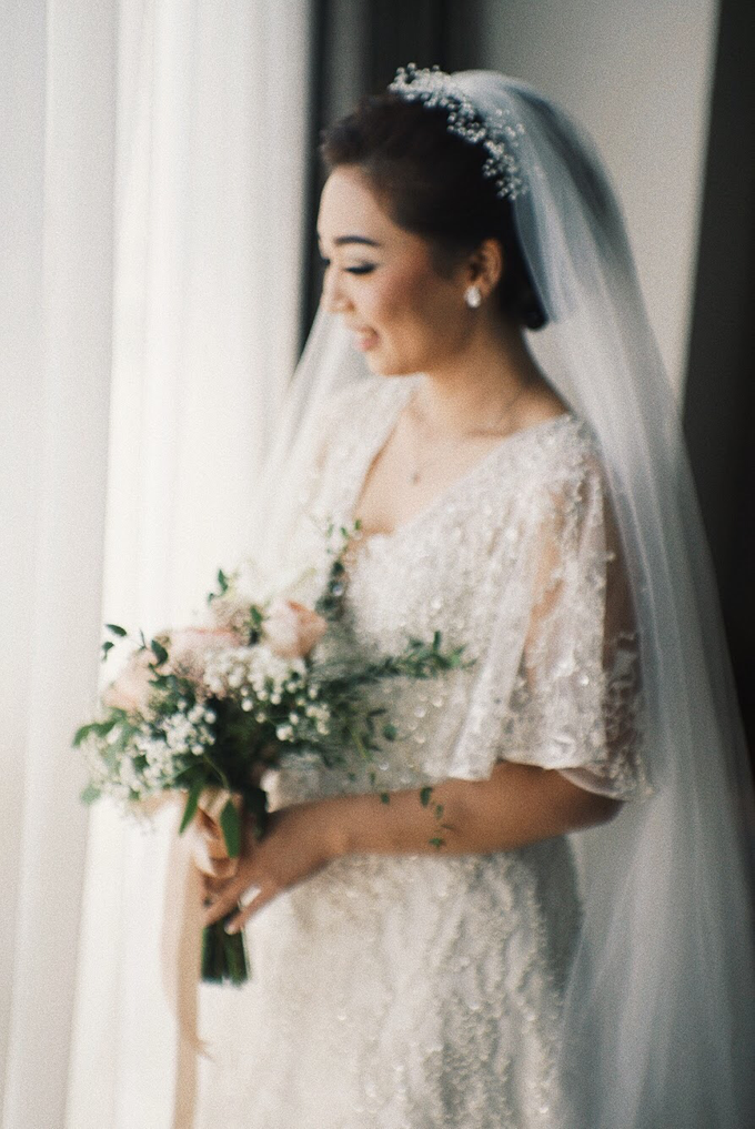 Maggie & Alvin Simple Wedding by Elsie Chrysila Brides - 002