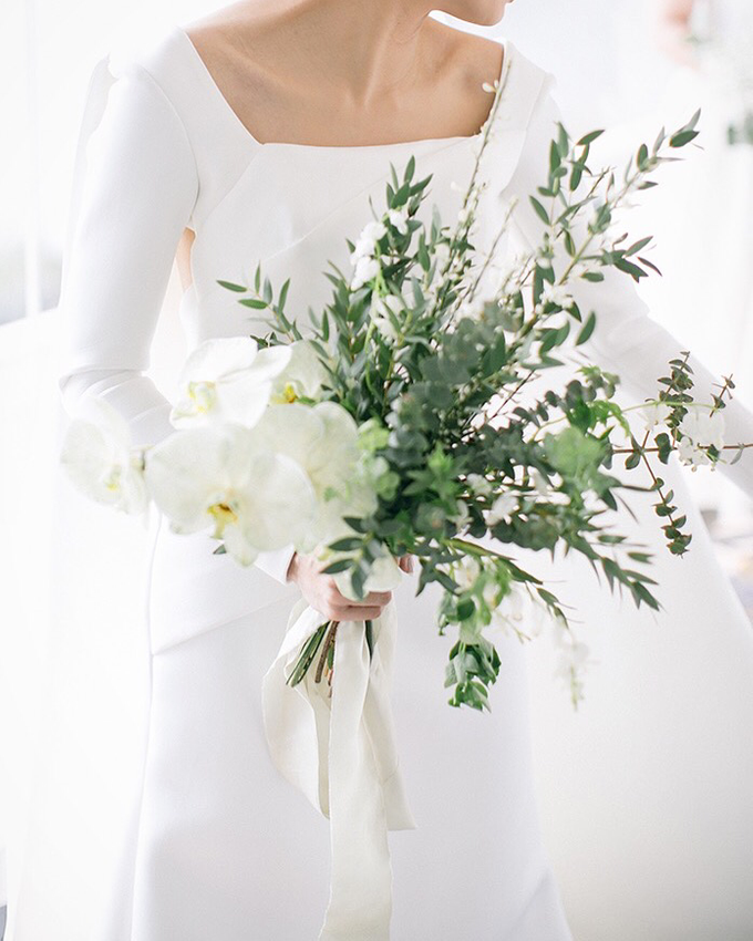 Classic White Wedding of Rio & Jess by Elsie Chrysila Brides - 001