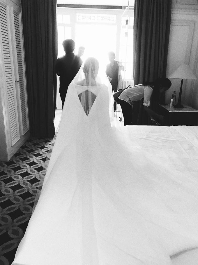 Classic White Wedding of Rio & Jess by Elsie Chrysila Brides - 034