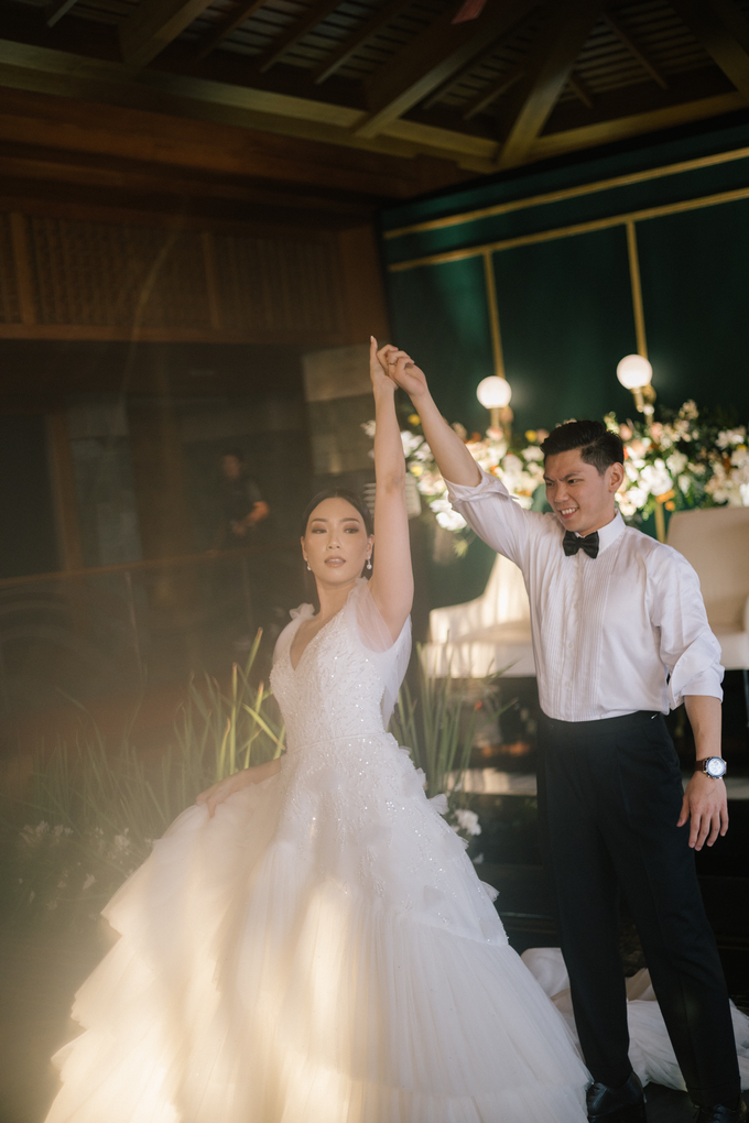 The Wedding of Nixon & Valerine by Elsie Chrysila Brides - 004