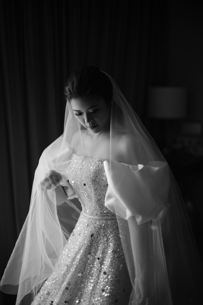 The Wedding of Michael & Agnes by Elsie Chrysila Brides - 001