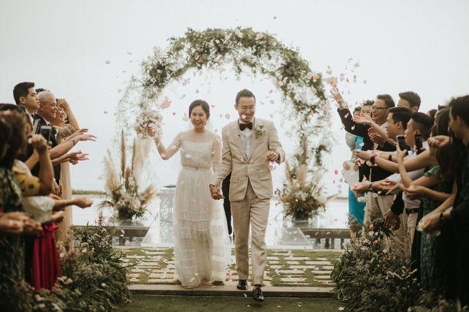 Chris & Calista Real Wedding at The Stone House by Tirtha by Tirtha Bali - 028