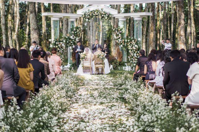 The Greek Goddess Themed Wedding of Edo and Marshella by Elior Design - 005
