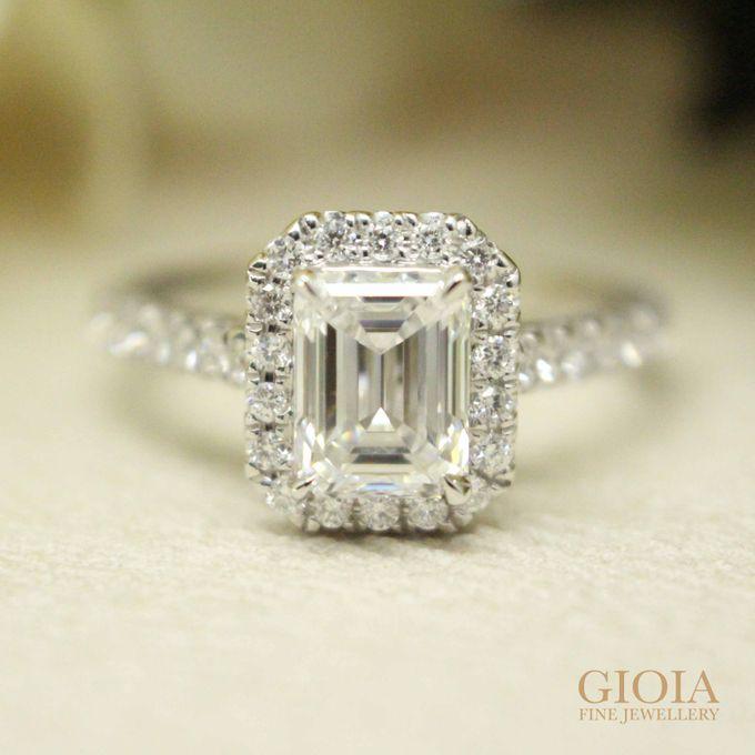 Emerald-cut Diamond Proposal Ring by GIOIA FINE JEWELLERY - 001