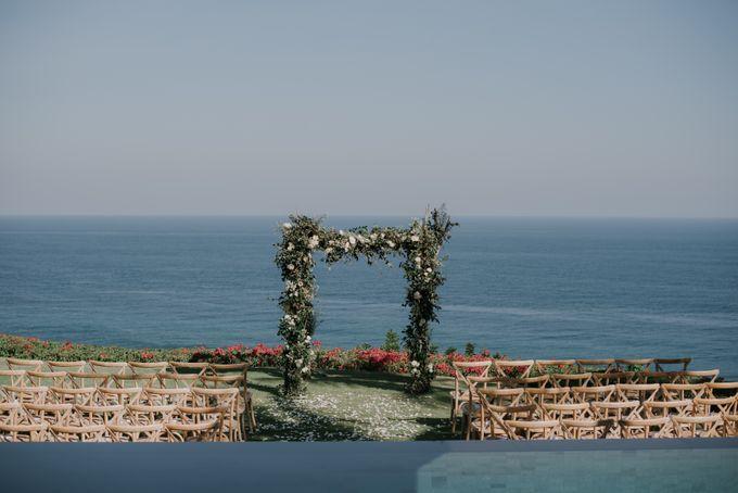 Lisa & Alessio Wedding by Bloomz Flower Bali - 003