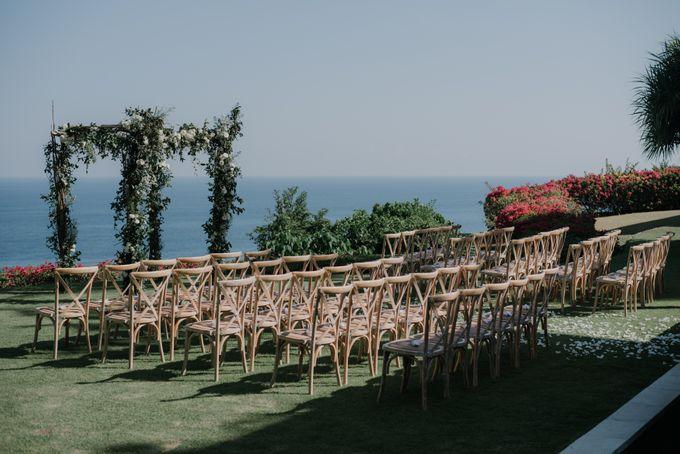 Lisa & Alessio Wedding by Bloomz Flower Bali - 004